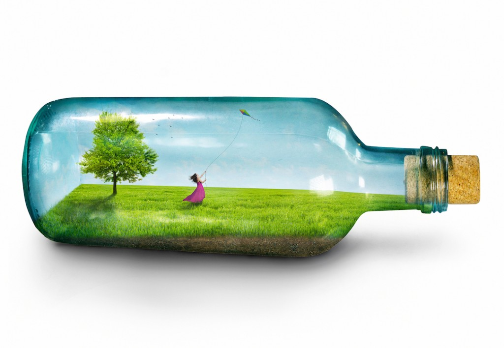 Girl in bottle_© Kevin Carden | Dreamstime.com small